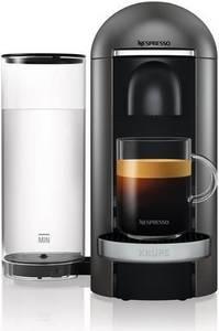 Krups Nespresso Vertuo Plus Titan XN902T mit Aeroccino