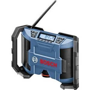 Bosch Professional GML 10,8 V-LI Baustellenradio UKW Blau, Schwarz